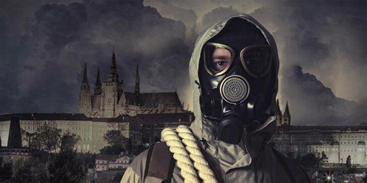 Nukleární bunkr: napínavá úniková hra pro tým 2–6 hráčů