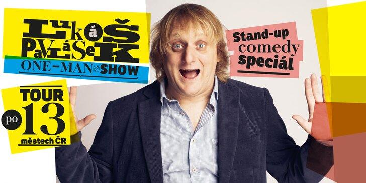 Vstupenka na stand-up comedy Lukáše Pavláska ve Zlíně