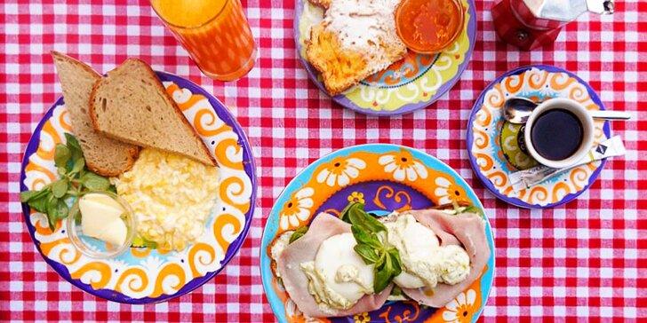 Snídejte s láskou až do oběda: víkendový brunch z kvalitních surovin dle výběru