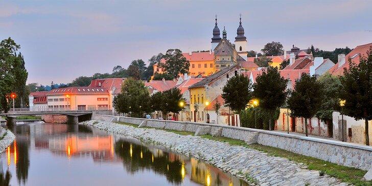 Relax i poznání v Třebíči: polopenze a příp. vstupy do památek a aquaparku