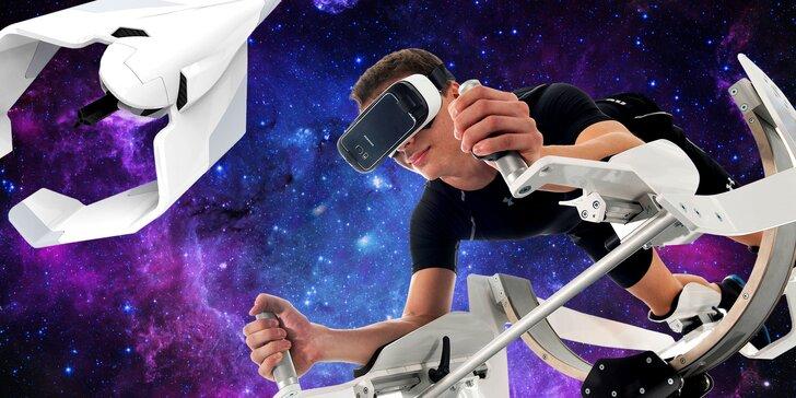 Propadněte virtuální realitě: 3, 5 či 10 vstupů na konzoli HTC Vive i simulátor létání