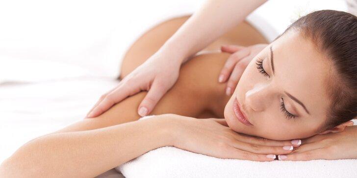 Vaše chvíle odpočinku: relaxační masáže dle výběru