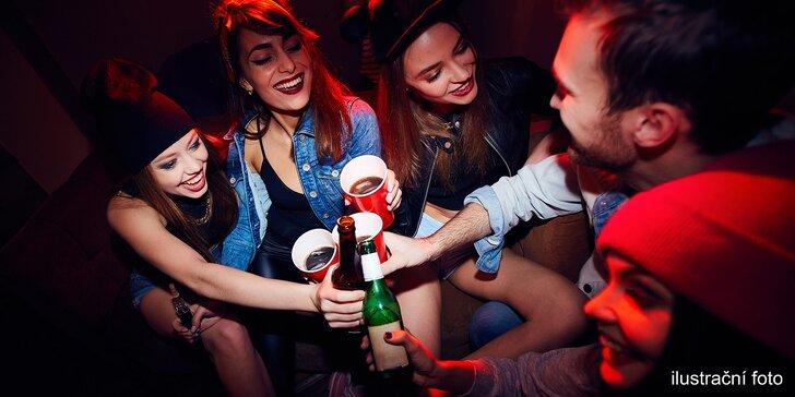 Párty balíčky s alkoholem i nealkem a chipsy: dovoz po Praze až do 4.00 ráno
