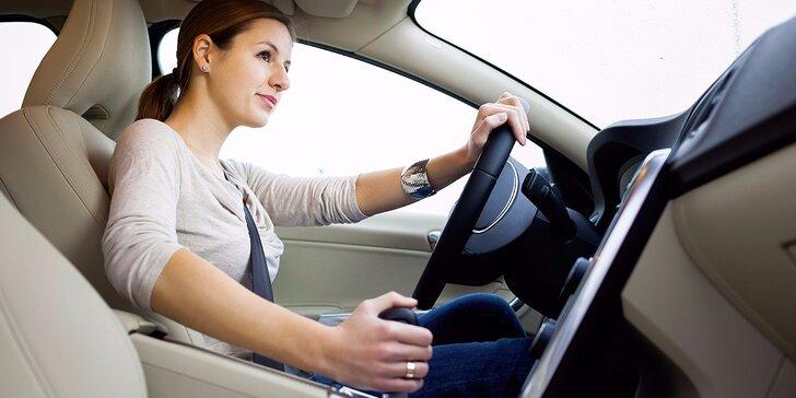 Simulátor smyku: získejte cenné zkušenosti, naučte se 100% ovládnout svůj vůz