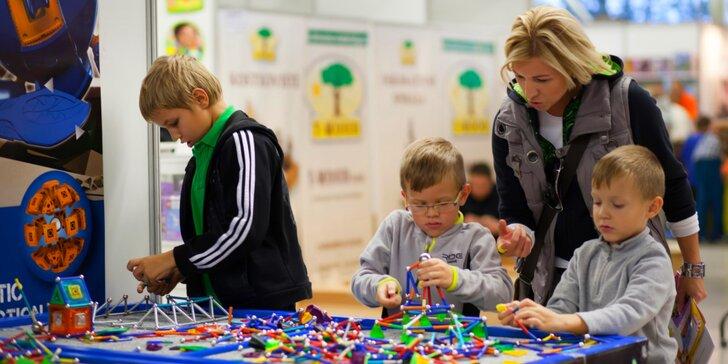 Jednodenní rodinná vstupenka na Ostravský festival pro děti s pestrým programem