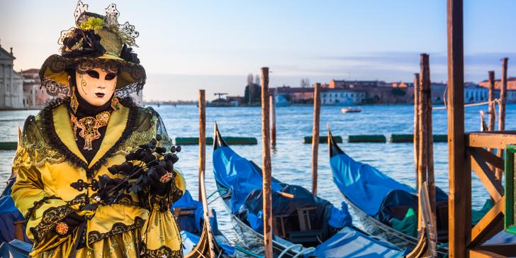 Karneval v Benátkách s návštěvou Verony, Padovy, Sirmione + ubytování na 2 noci