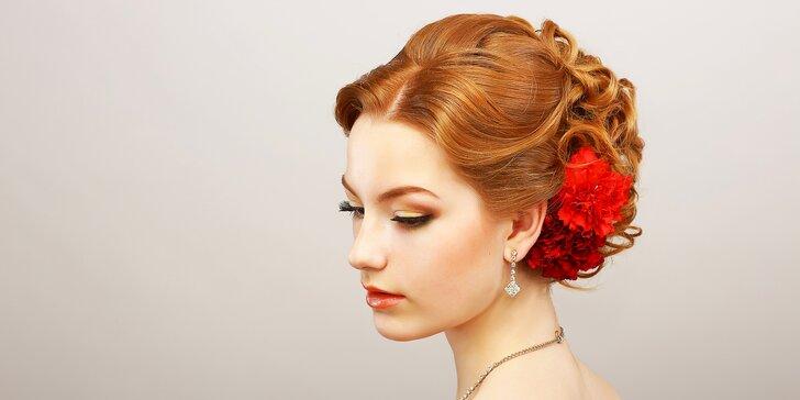 Když chcete být krásná: společenský účes nebo nový střih od profi kadeřnice