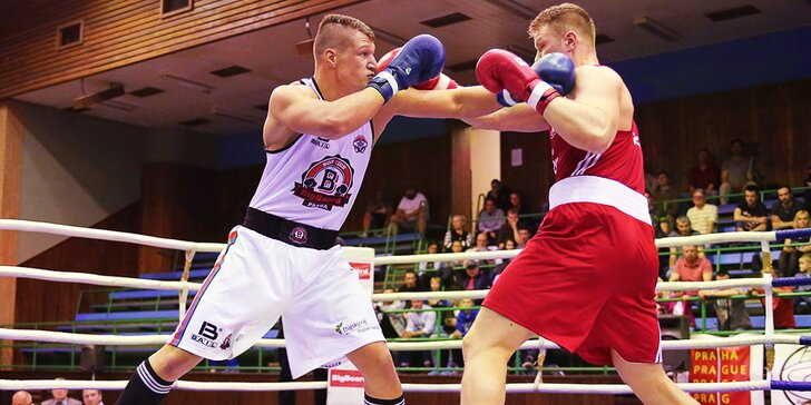 Do ringu s boxerským šampionem: 2 hodiny tréninku s Danielem Táborským