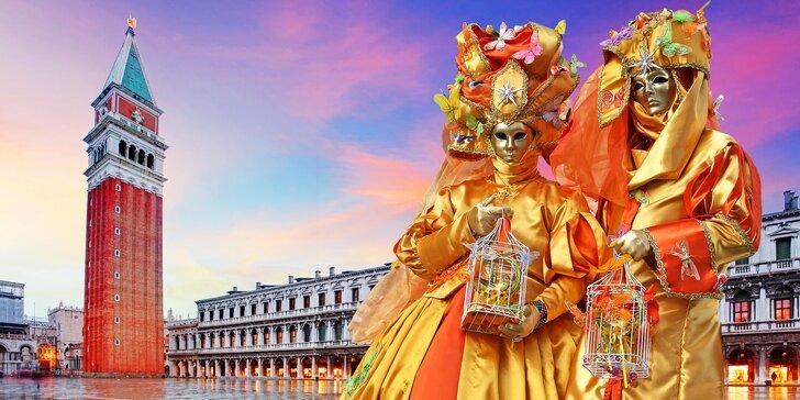 Postojna, mořské lázně Portorož a karneval v Benátkách na 1 noc vč. dopravy
