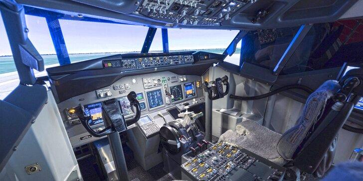 Pilotem dopravního letadla: zážitek na simulátoru či odbourání strachu z létání