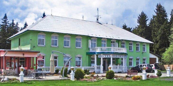 3 - 4 dny v Krušných horách s polopenzí: turistika, odpočinek i lyžování