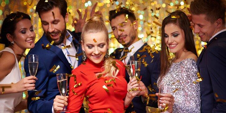 Silvestr v jižních Čechách: all inclusive nápoje, dobré jídlo, wellness a párty
