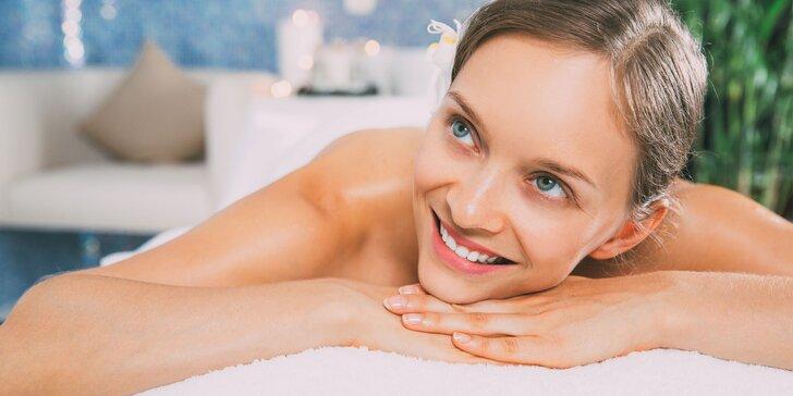Zimní hýčkání: hodinová masáž dle výběru nebo 3x masáž proti celulitidě
