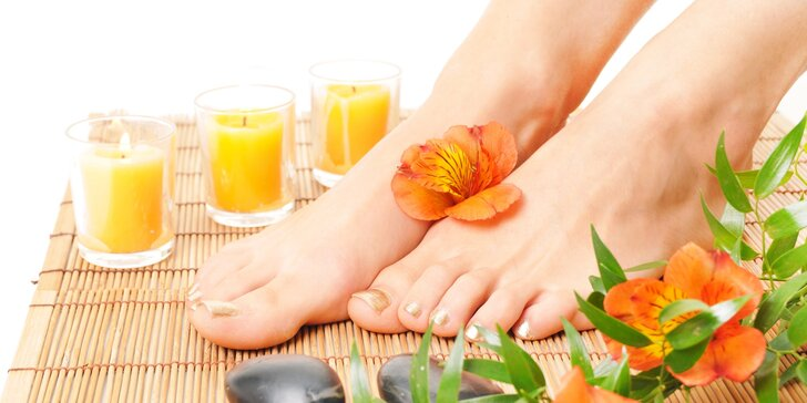 Rakytníková bio pedikúra pro zdravé nožky s možností lakování