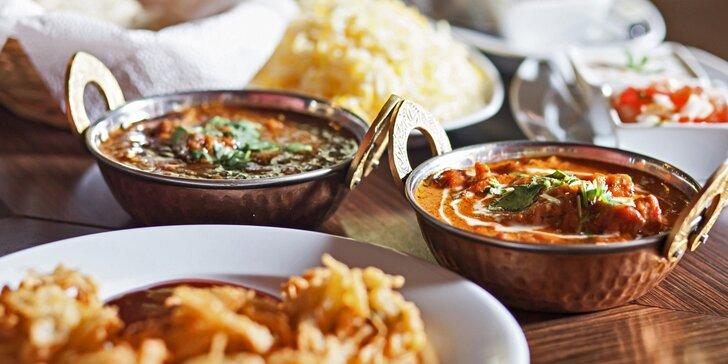 Autentické nepálské menu pro dva – masové i vegetariánské speciality