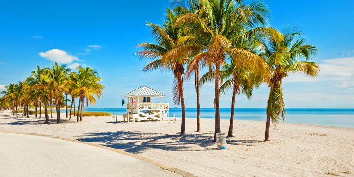 Záloha na březnový zájezd na Miami Beach: letenka, 7 nocí v hotelu a průvodce