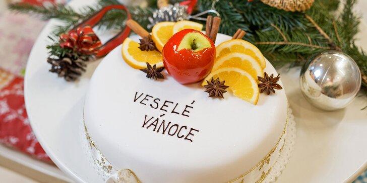 Sladká ozdoba vašeho stolu: 5 dortů včetně fitness a slavnostně vánočních
