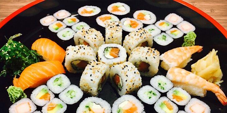 To nejlepší z Asie: Lákavý sushi set v restauraci Lumio