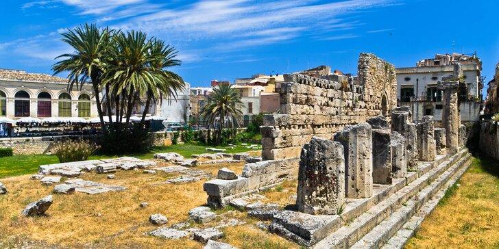 Zájezd na Sicílii, do Říma, Syrakus i na Capri s ubytováním, polopenzí a průvodcem