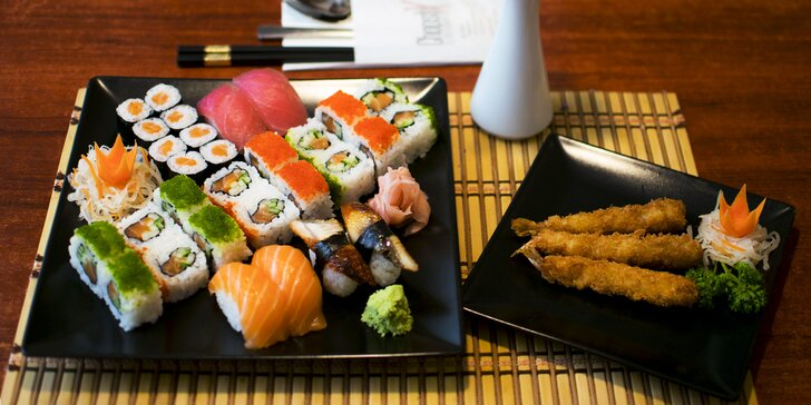 Chopstix sushi set: až 53 skvělých kousků pro 1, 2 nebo 4 osoby