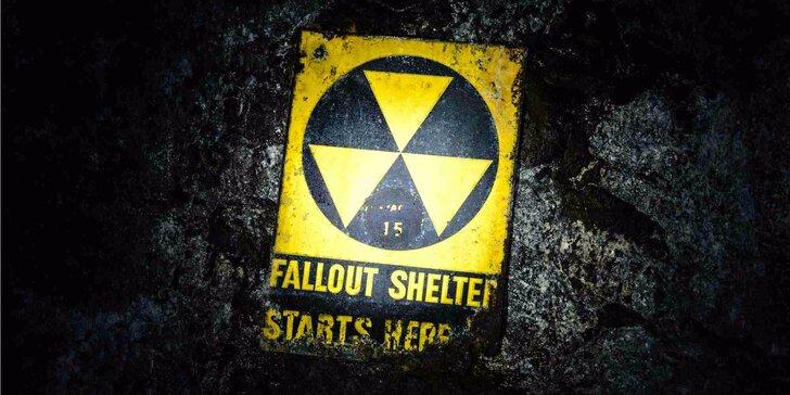 Úniková hra až pro 6 hráčů: Najděte cestu z atomového krytu