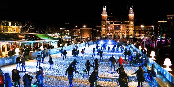 Advent v Amsterdamu: prohlídka města s průvodcem a možnost navštívit muzea