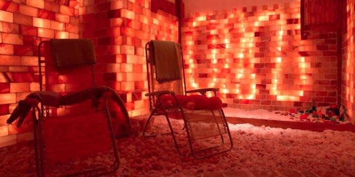 50 minut v solné jeskyni s haloterapií pro děti i dospělé