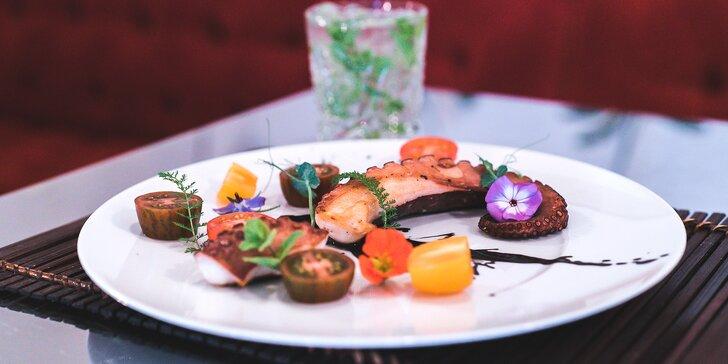 Dárkový voucher v hodnotě 1000 Kč do fusion restaurace na Ovocném trhu