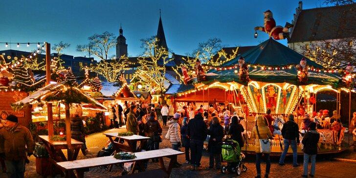 Adventní německý Ingolstadt s nákupy v obřím outletu Wertheim Village