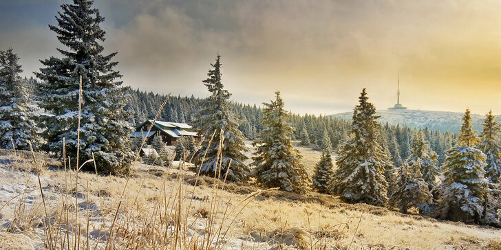 Rodinný zimní pobyt v Jeseníkách až pro 4 dospělé a 2 děti do 11,9 let