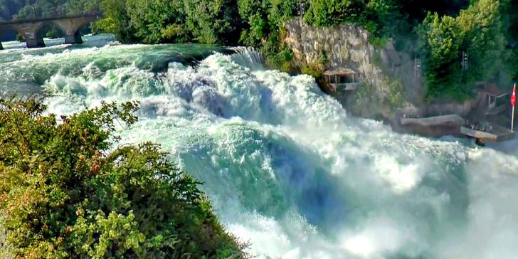 Víkendový výlet k nejmohutnějším vodopádům Evropy, do Bregenz a Lindau