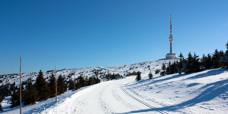 3-6denní zimní dovolená či lyžovačka v Jeseníkách se snídaní pro dva