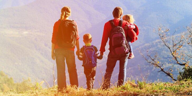 3 až 6 dní na horách: aktivní dovolená v Jeseníkách na podzim i v zimě