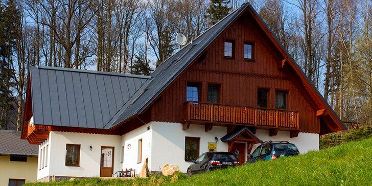 Odpočinek v Krkonoších: Vybavené apartmány v Rokytnici pro 2 či rodinu