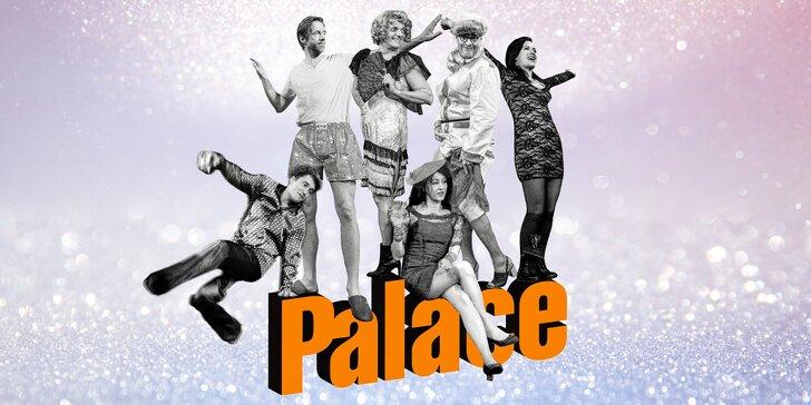 Vstupenka na vybraná představení Divadla Palace – repertoár plný komedií