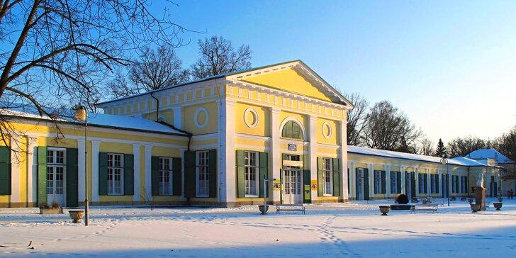 Pohodový pobyt ve Františkových Lázních: Polopenze a masáž pro dva turisty