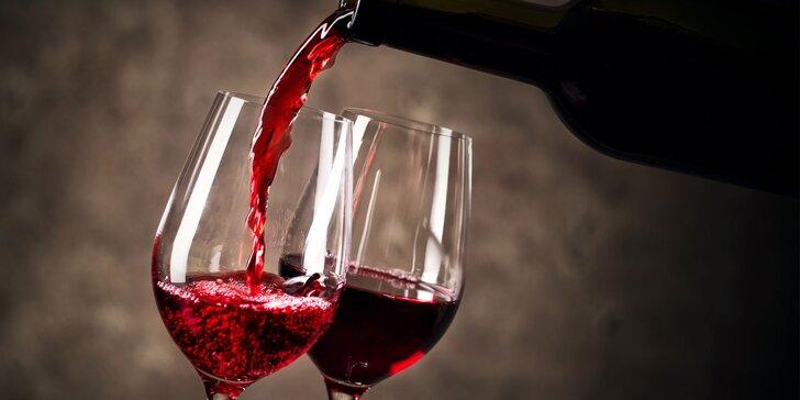 Průřezová degustace likérových vín včetně výkladu a degustačního sousta