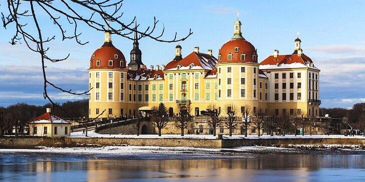 Adventní výlet za Popelkou na zámek Moritzburg a na adventní trhy do Drážďan