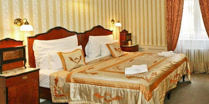 Zažijte romantiku zimní Prahy: stylové ubytování v historickém ****hotelu