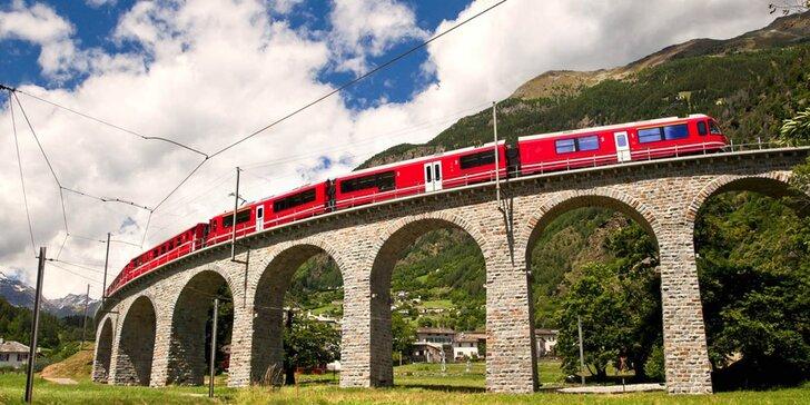 Výlet do Švýcarska: Jedinečný zážitek na nejkrásnější železniční trati na světě