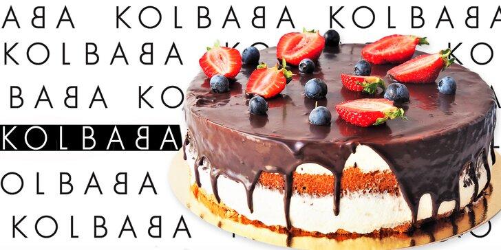 Sladké lásky z brněnské Kolbaby – dort s lesním ovocem nebo tvarohový Míša