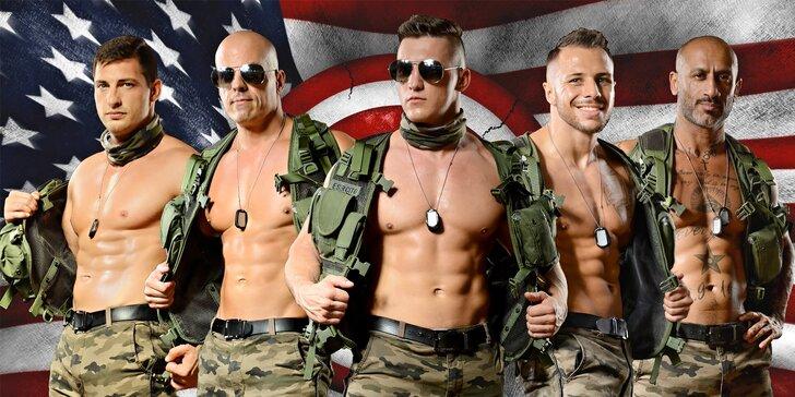 Men on Fire: striptýzová show od borců ze skupiny California Dreams