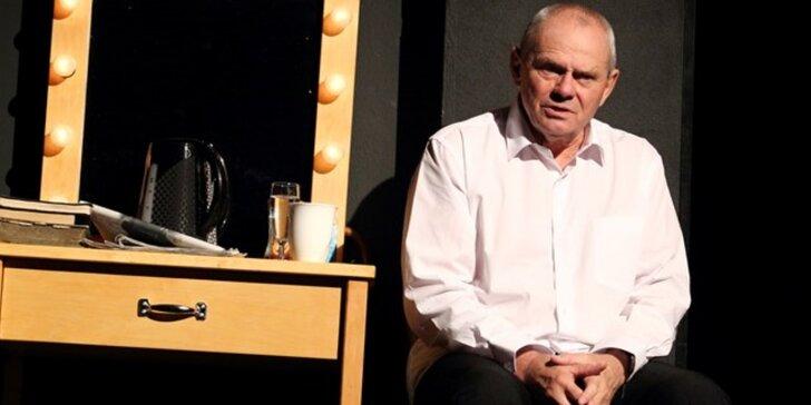 Vstupenka na divadelní představení Shylock s legendárním Milanem Kňažkem