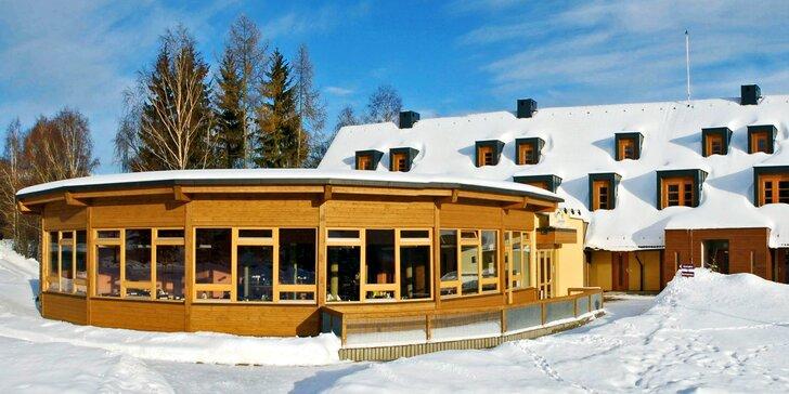 Za přírodou i na lyže do Orlických hor: polopenze a neomezeně wellness