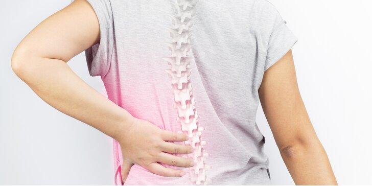 Účinná pomoc od bolesti zad a páteře: Diagnostika a terapie pohybového systému