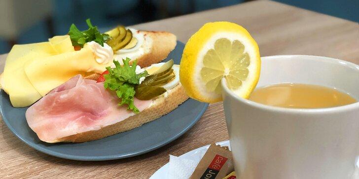 Chlebíček, nebo zákusek? Sladké i slané dobroty s kávou či čajem