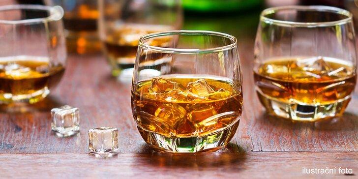 Degustace šesti špičkových rumů v anglickém pubu