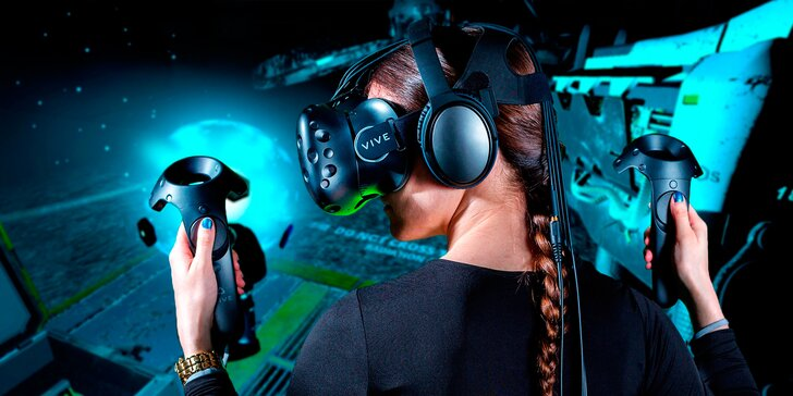 Otevřete bránu virtuální reality: 1 nebo 2 hodiny fascinujících zážitků