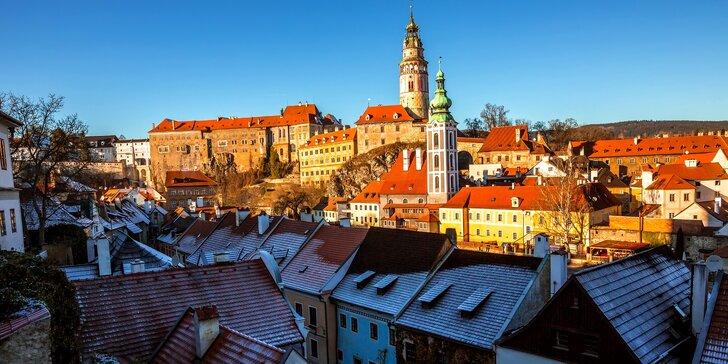 Adventní trhy a památky v Českém Krumlově - apartmán kousek od centra