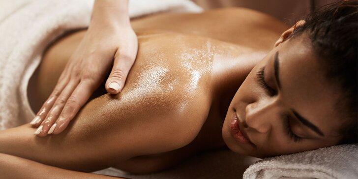 Uvolněte své svaly i mysl: ruční masáž zad a šíje s možností terapie BioMat